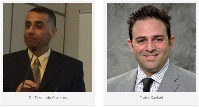 Presenters Dr. Fernando Cisneros & Carlos Saviani, DSM Nutritional Products
