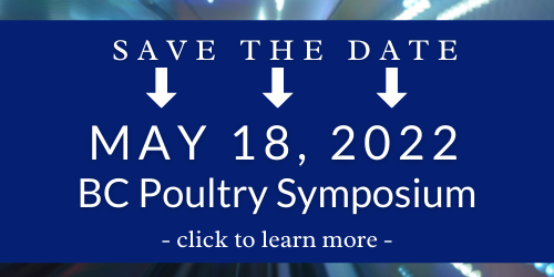 BC Poultry Symposium 2022